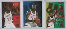 SHAQUILLE O'NEAL LOT (3) 1996 SKYBOX USA BRONZE SILVER GOLD INSERTS RARE SP
