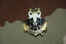 W508 insigne militaire pucelle armée SMA Service Militaire Adapté GUADELOUPE