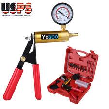 Brake Bleeder Vacuum Pump Tester Hand Held Tool Kit Manual Pistol Pump US