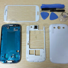 Replacement Housing Case + Glass For Samsung Galaxy S3 I747 T999 T-Mobile White