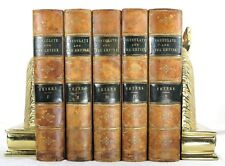 1883 HISTORY OF THE CONSULATE AND THE EMPIRE FRANCE UNDER NAPOLEON THIERS 5 VOL