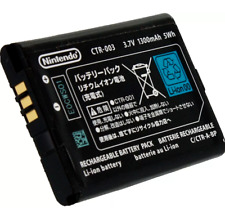 Original Genuine Nintendo 3DS CTR 003 Rechargeable 3.7v 1300mah 5Wh Battery
