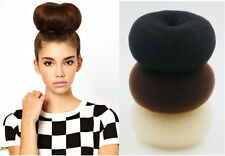 15CM Large Hair Donut Bun Maker Blonde Coffee Hair Bun Hair Accessories Clips