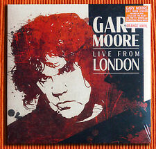 GARY MOORE – LIVE FROM LONDON  180g Orange Coloured Vinyl  2LP Limited  SEALED