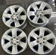 "17"" GMC CANYON FACTORY OEM SILVER ALLOY WHEELS RIMS 17x8 2015-2017"