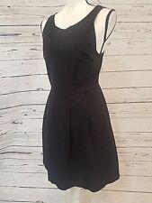 J.Crew Sleeveless Cocktail Dress, Stretch, Black, Size 6
