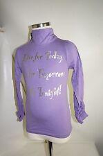 Vinrose langarm Shirt Gr. 116 lila / Silber uvp: 59,95 €   VINROSE    .