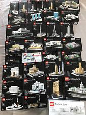LEGO Architecture MEGA-Sammlungsauflösung 21021 21016 21009 21014 *33 Sets !!!*