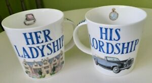 Dunoon Fine Bone China Mug's set of two,  - Made in England