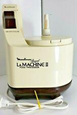 Moulinex Regal LM2 La Machine II Food Processor Base Motor Original Ivory Brown