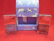 Nails Inc Sparkle Like A Unicorn Nail Polish Duo~Rainbow Wishes~Dream Dust~NIB