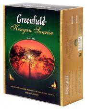 Greenfield 100 Beutel je 2 g Schwarzer Tee Kenyan Sunrise