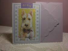Carol's Rose Garden - Get Well - A  White Scottie Dog is on the cover white