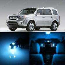 19 x Ice Blue LED Lights Interior Package For Honda PILOT 2009 - 2015  + TOOL