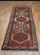 OLD WOOL HAND MADE PERSIAN ORIENTAL FLORAL RUNNER AREA RUG CARPET 315x85CM