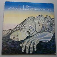 Iconoclasta - Reminiscencias LP Vinyl Mexico 1st Press 1986 Symphonic Prog
