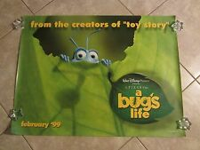 Disney/Pixar  A Bug's Life movie poster - original advance uk movie poster