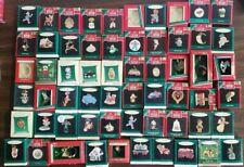 Lot of 60 Hallmark Miniature Ornaments ~ Popular Series & Individual New in Box!