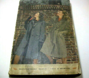 Vintage 1941/42 Montgomery Ward Fall & Winter Catalog 1173 Pages