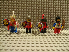 ( D11 / 4) LEGO RITTER RITTERBURG CASTLE 1752 6036 6090 FIGUREN GEBRAUCHT kg TOP