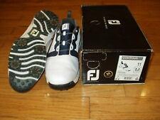 Footjoy Men's Golf Shoe Contour Fit BOA White Soft Spike Size 11