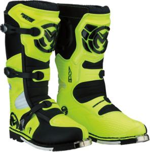 Moose - M1.3 Boots Adult Size 11 Hiviz  MX Moto Duel sport - 3410-1983