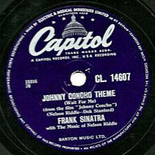 Frank Sinatra Easy Listening 78 RPM Records