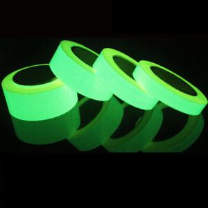 Luminous Tape Night Safety Strip Car Reflective Stripe Green Fluorescent