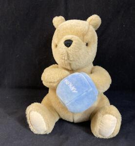 Gund Classic Winnie the Pooh Plush Musical Wind Up Honey Pot 9 inch Baby Gift