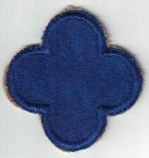 WWII US Army 88th Infantry Division SSI Patch Cut Edge Blue Devil Cloverleaf W/B