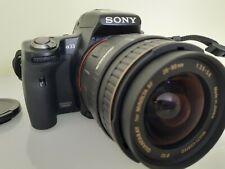 Sony Alpha SLT-A33 14.2MP Digital SLR Camera - Black (Kit w/ 28-80mm Lense