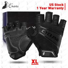 Sports Racing Cycling Motorcycle MTB Bike Bicycle Gel Half Finger Gloves XL US