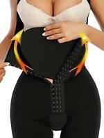 Black Abdominal Board Body Shaper Post Surgery Waist Tummy Compression Flat Abs