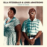 ARMSTRONG,LOUIS/FITZGERALD,ELLA - CHEEK TO CHEEK    180G VINYL LP NEW+