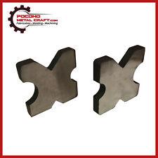 20 Ton Steel Shop Press Bed Arbor Plates  H-Frame 4 Notch 1