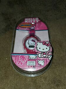 Girls Hello Kitty  LCD Watch