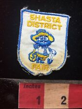 Vtg & As-Is SHASTA DISTRICT FAIR GOLD MINING Patch - California 76V3