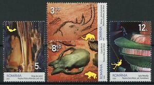Romania Caves Stamps 2020 MNH Inst of Speleology Emil Racovita Fossils 4v Set