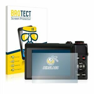 Canon Powershot G7 X Mark III BROTECT® AirGlass® Premium Glass Screen Protector