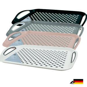 RUTSCHFEST XL Serviertablett Tablett Frühstückstablett Anti Slip Tray ABAV