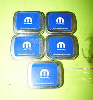 Mopar Genuine Lot of 5 OEM Promotional Breath Mints & Collectible Tin!!