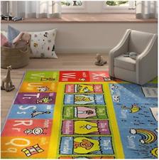 Alphabet ABC Area Rug 5 ft. x 7 ft. Seasons Months Days Kids Children Bedroom