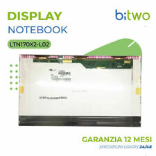"Display Notebook LTN170X2-L02 17"" ricambio schermo LCD panel monitor"