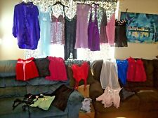 Vintage 22 Pc Lot 2nds Over-Stock Slips Nighties Camisole Teddy Lingerie #4