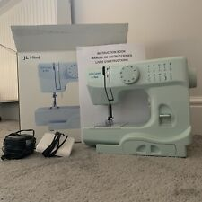 Makkalen Household Sewing Machine Desktop Portable Sewing Tool Multifunctional Mini Electric Craft Sewing Machine for Beginners