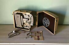 Projecteur MALEX Ercsam Film 8mm. 16 mm + notice dans mallette