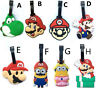 Super mario brothers yoshi lots style luggage tag baggage tips silica gel cute g