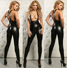 Fever Bodysuits Adult Fancy Dress Ladies Sexy EXOTIC Catsuit Body Suit 729 S-L