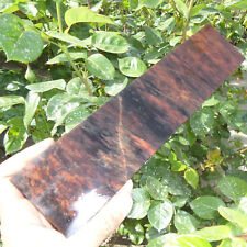 300x72x20mm NATURAL OBSIDIAN PREFORMS SLABS SLAB FOR KNAPPING KNIFE ARROWHEAD