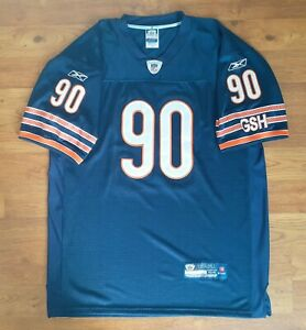 Reebok On Field Chicago Bears Julius Peppers Stitched Football Jersey Men's 54